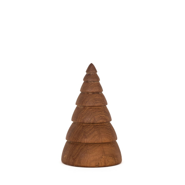 Jul Weihnachtsdekoration Tannenbaum small von ArchitectMade in Teak
