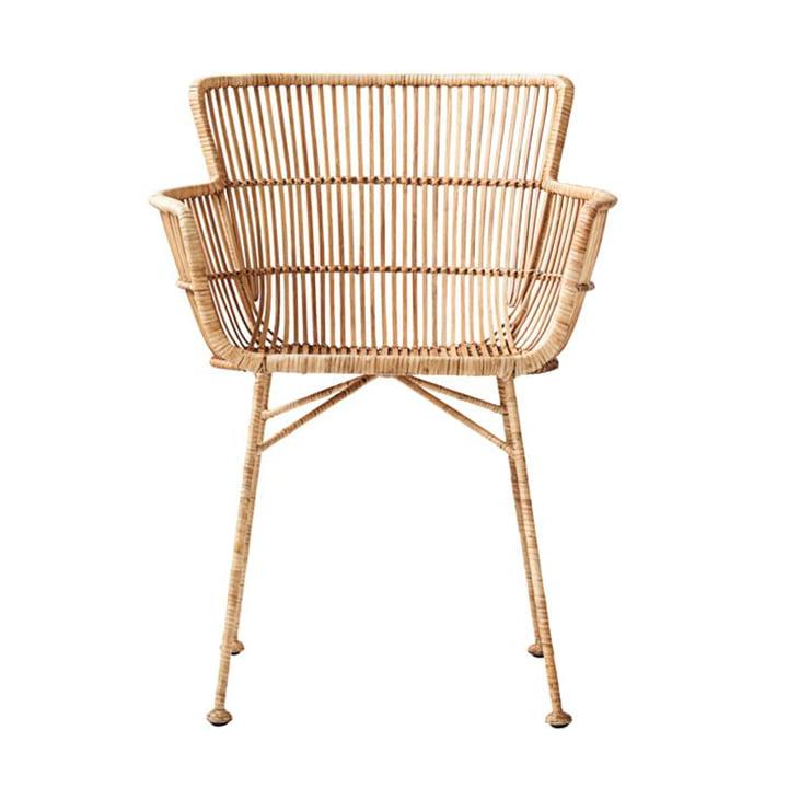 Cuun Rattan-Stuhl von House Doctor in natur
