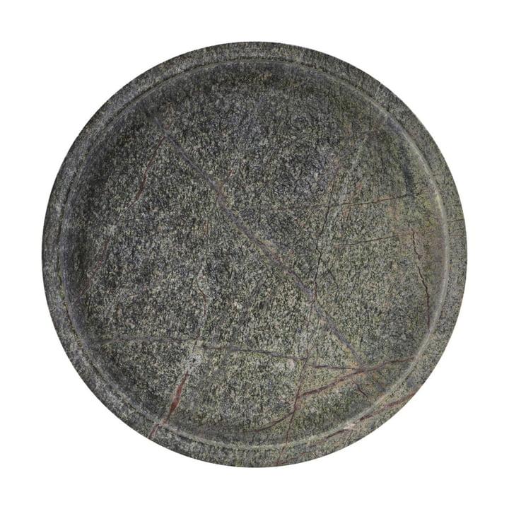 Poli Marmor Tablett, Ø 30 x 4 cm, grün von House Doctor