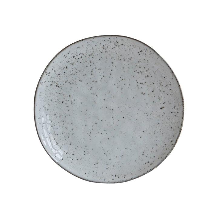 Teller Rustic Ø 20,5 cm, graublau von House Doctor