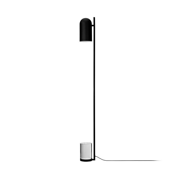 Luceo Stehleuchte, Ø 12 x H 140 cm, schwarz / klar von AYTM