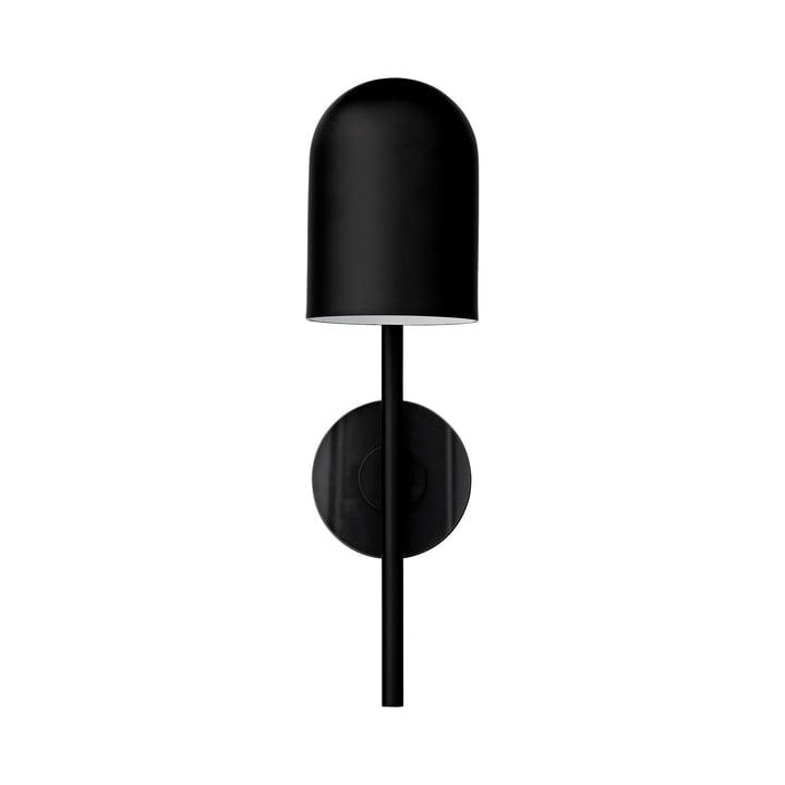 Luceo Wandleuchte, Ø 12 x H 45 cm, schwarz / klar von AYTM