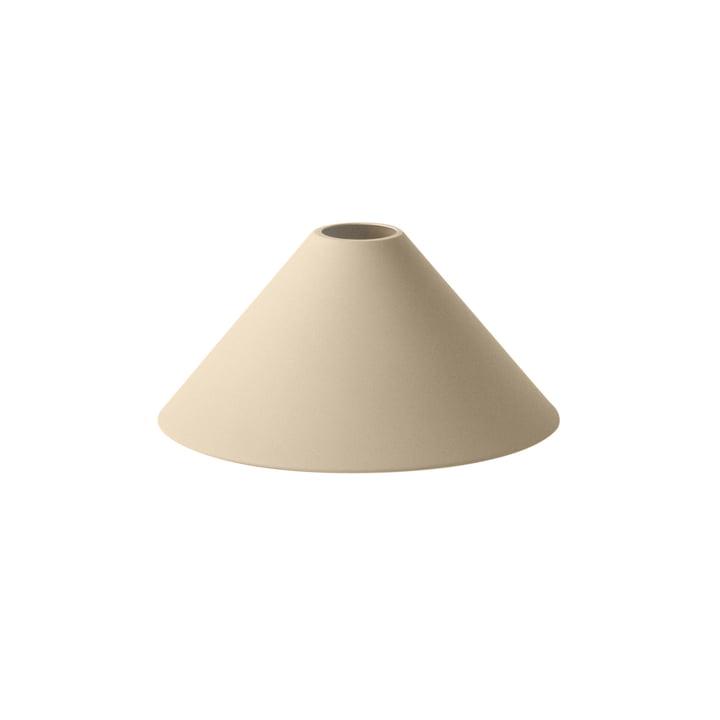 Cone Shade Lampenschirm von ferm Living in beige