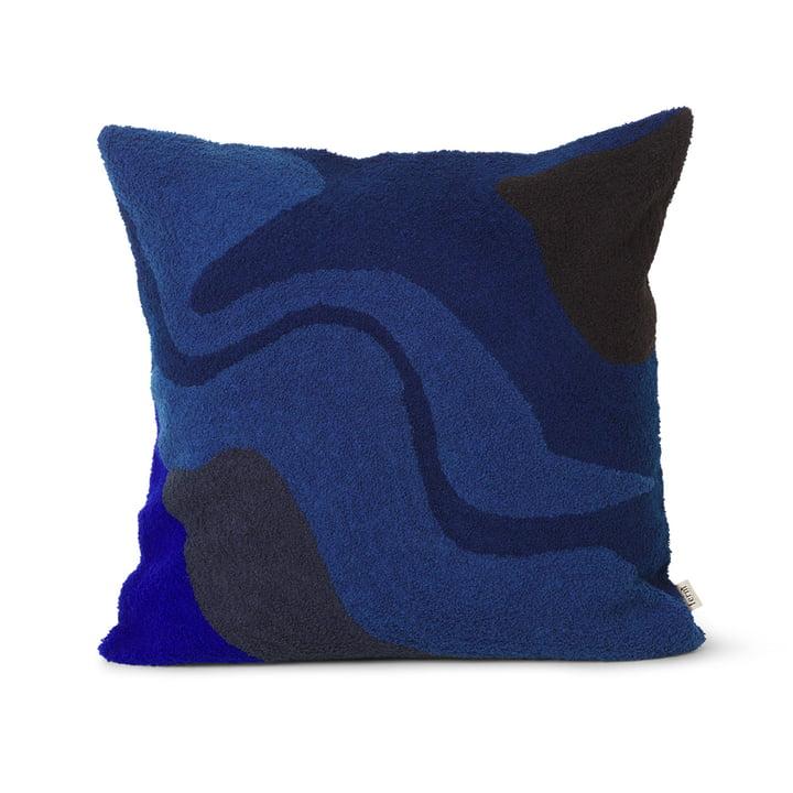 Vista Kissen 50 x 50 cm von ferm Living in dunkelblau