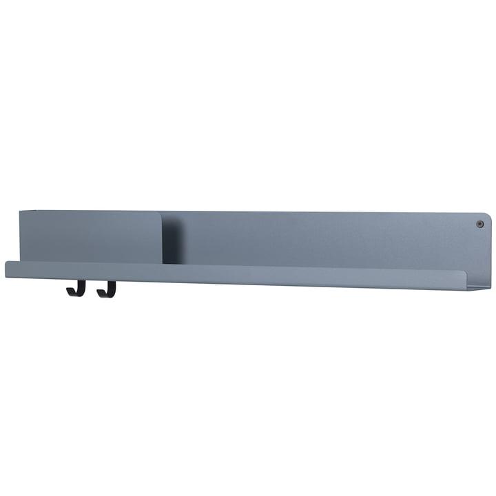 Folded Shelves 96 x 13 cm von Muuto in blau-grau