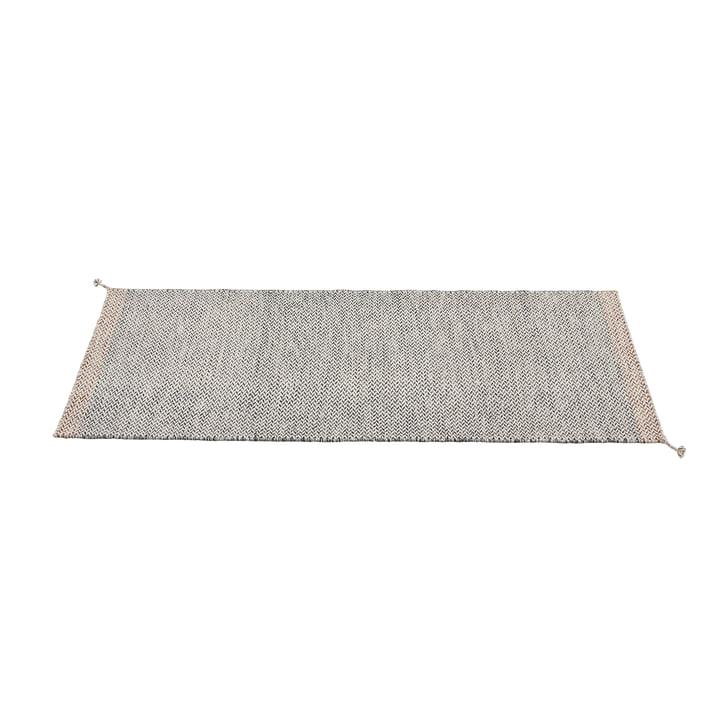 Ply Teppichläufer 80 x 200 cm von Muuto in schwarz-weiss