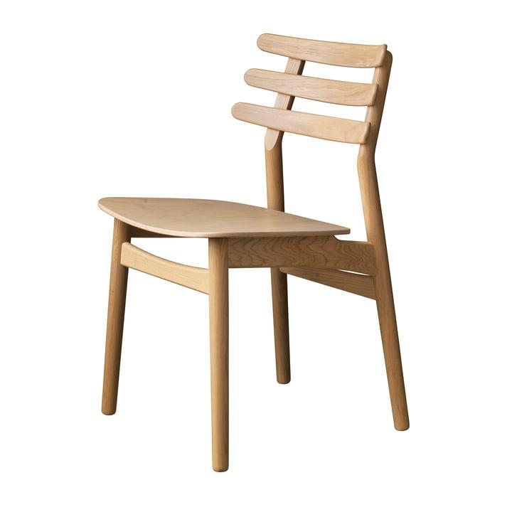 J48 Stuhl, Eiche matt lackiert von FDB Møbler