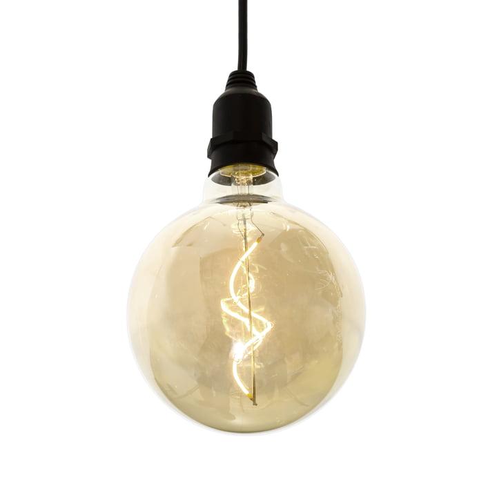 LED Pendelleuchte ohne Stecker für drinnen und draussen