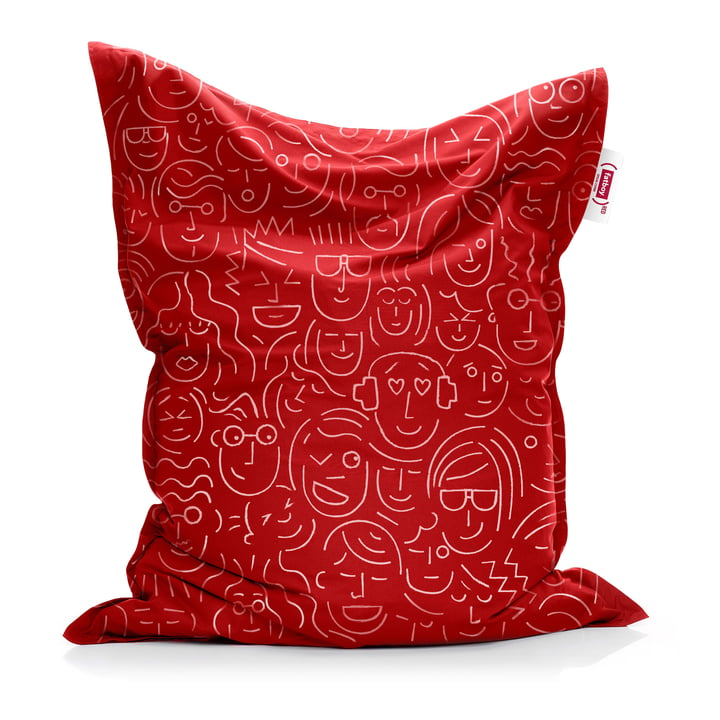 Sitzsack Original von Fatboy in red (let's-face-it / Special Edition)