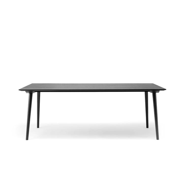In Between Tisch SK5 90 x 200 cm von &tradition in Eiche schwarz lackiert