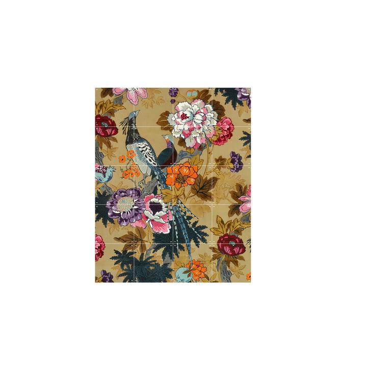 Tropical Birds (Morton Sundour Fabrics Ltd, England) 80 x 100 cm von IXXI
