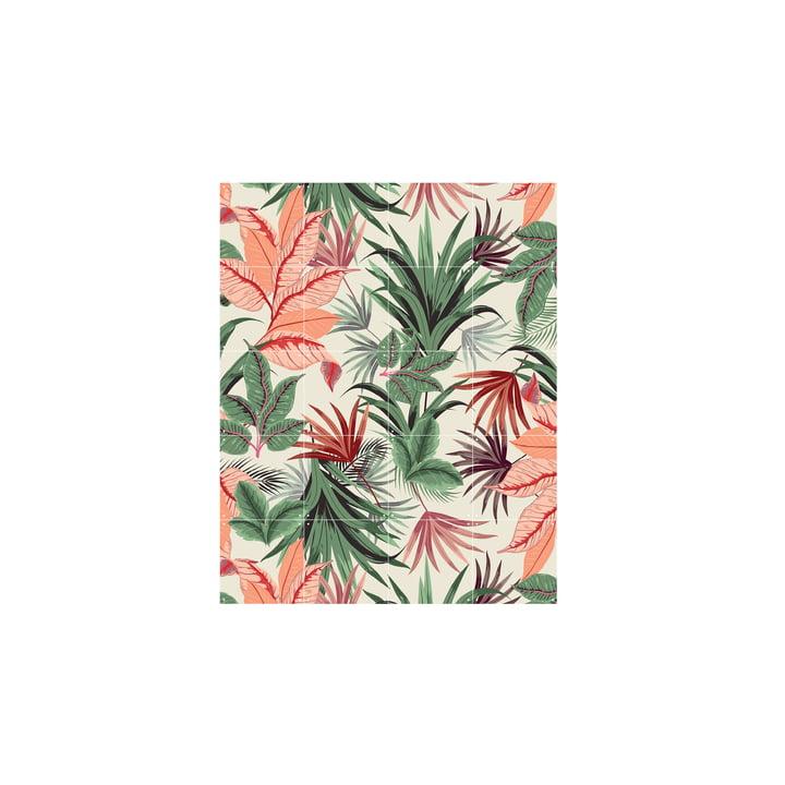 Pink Jungle 80 x 100 cm von IXXI