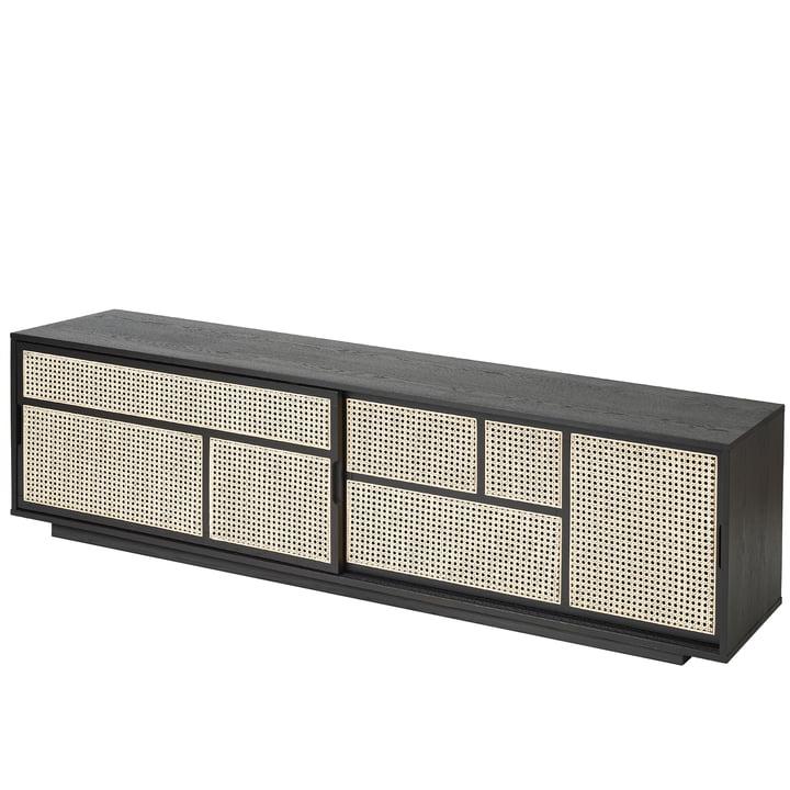 Air Sideboard / TV- Konsole von Design House Stockholm in schwarz
