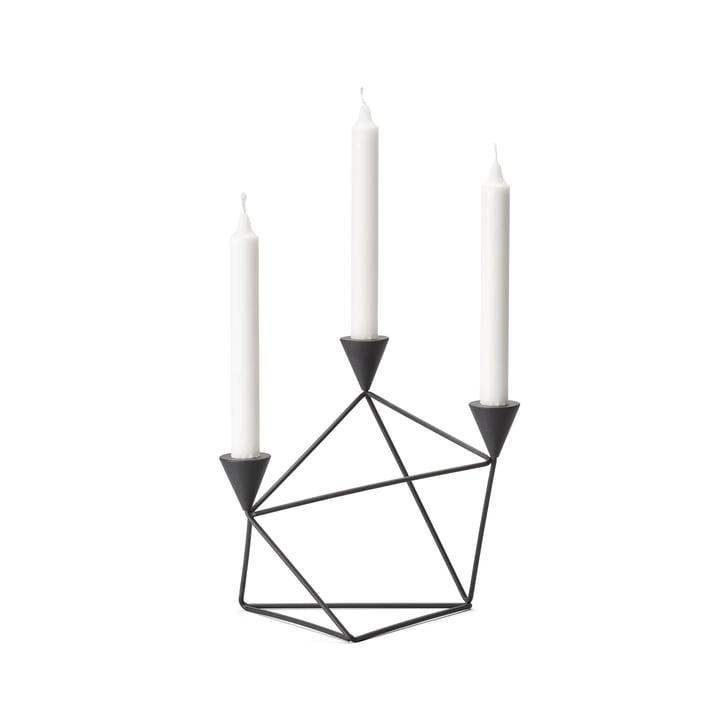 Pythagoras Kerzenhalter von Design House Stockholm in schwarz