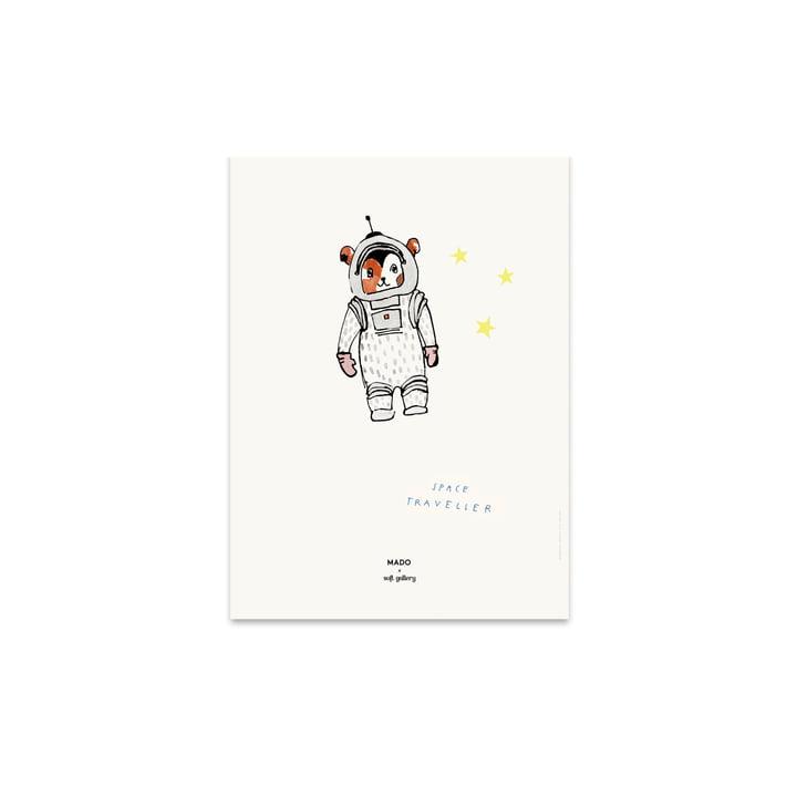 Space Traveller 30 x 40 cm von Paper Collective