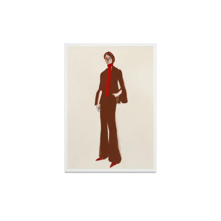 The Suit 30 x 40 cm von Paper Collective