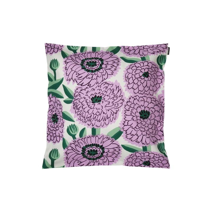Pieni Primavera Kissenbezug 45 x 45 cm, weiss / lila / grün von Marimekko