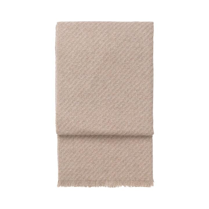 Diagonal Decke, beige / latte von Elvang