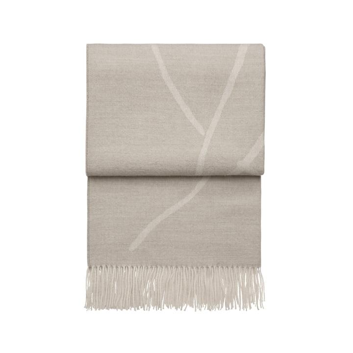 Wildflower Decke, beige / weiss von Elvang
