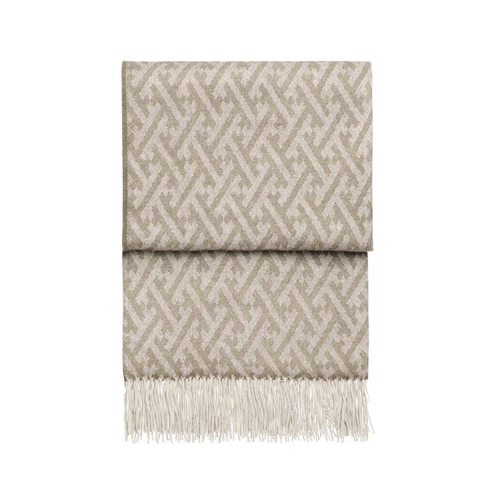 Amazing Decke, beige / weiss von Elvang