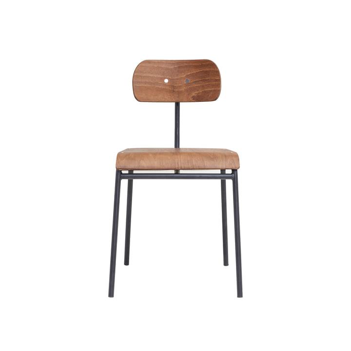 School Stuhl, braun von House Doctor
