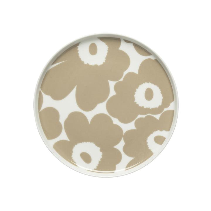 Oiva Unikko Teller Ø 20 cm, weiss / beige von Marimekko