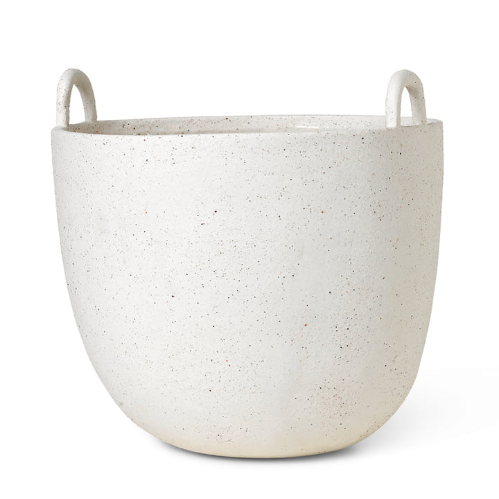 ferm Living - Speckle Pflanzentopf, Ø 30 x H 30 cm, off-white