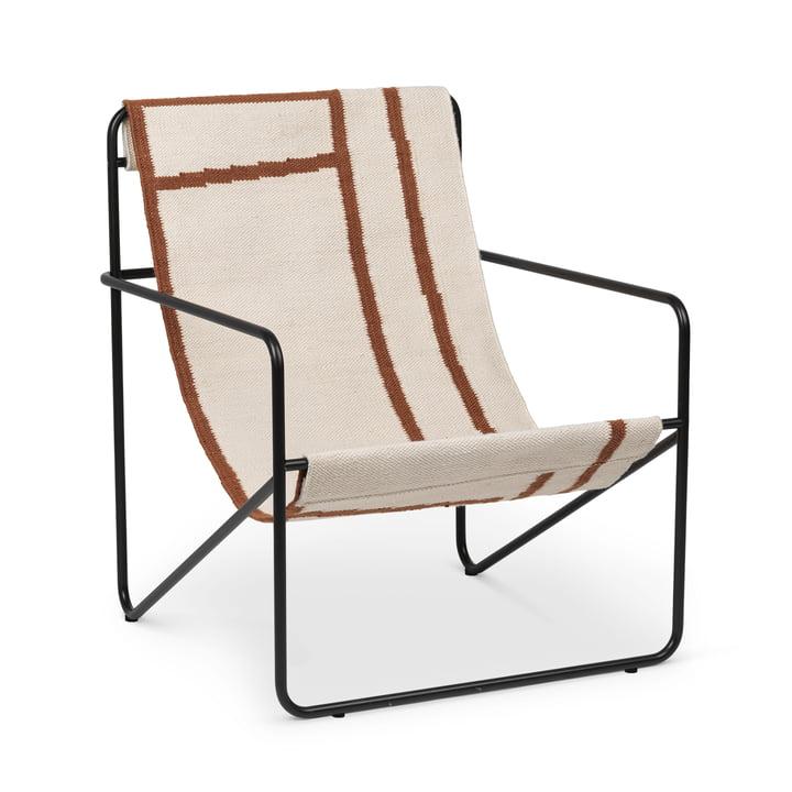 Desert Chair, schwarz / shape von ferm Living