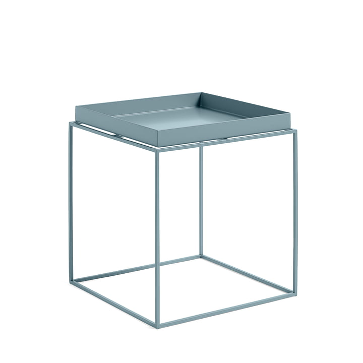 Tray Table 40 x 40 cm, blau von Hay