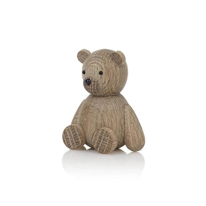 Teddy Holzfigur von Lucie Kaas in Eiche