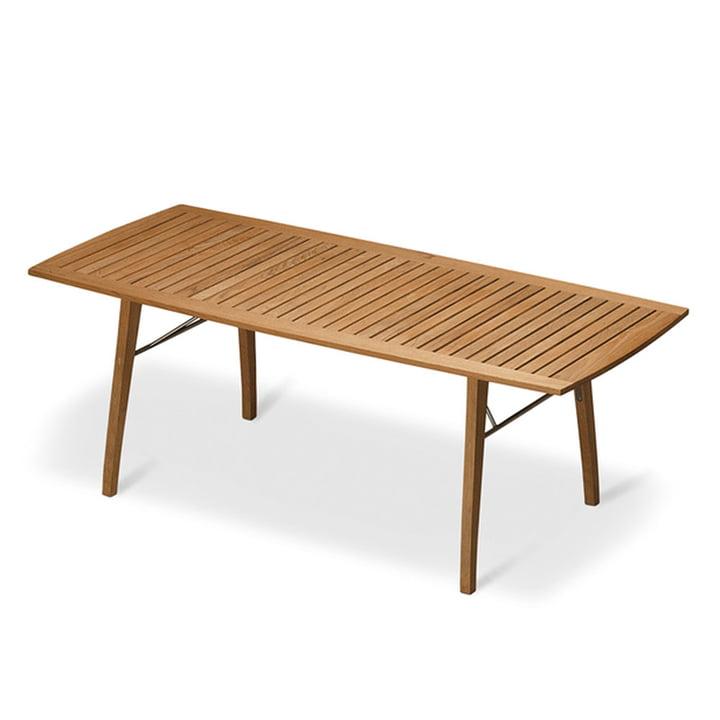 Ballare Tisch 196 x 90 cm, Teak von Skagerak