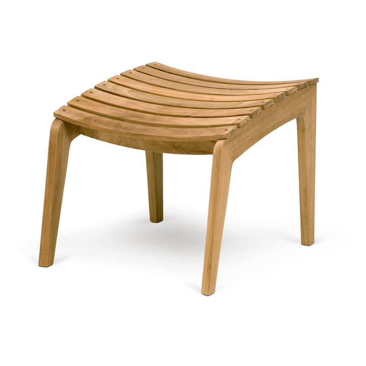 Regatta Lounge Hocker, Teak von Skagerak