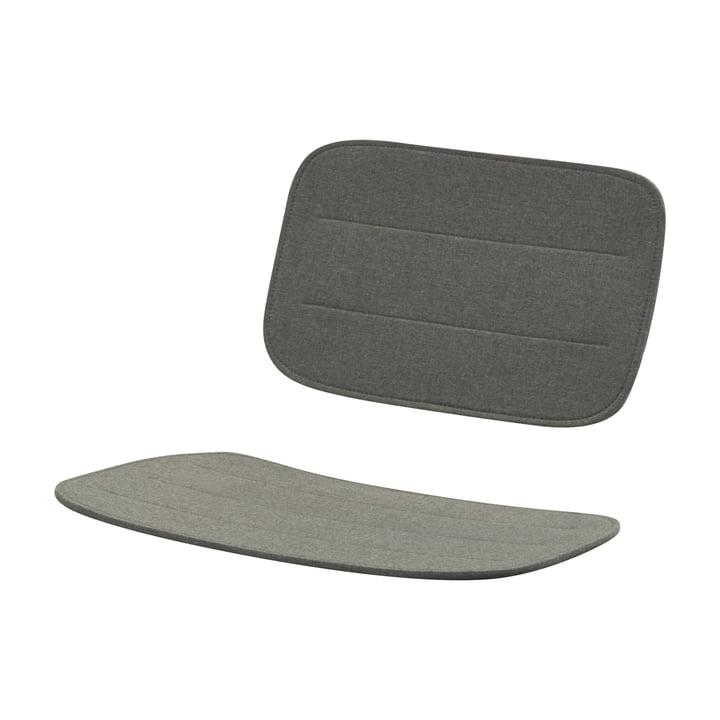 Sitzauflage für Lilium Lounge Stuhl, charcoal von Skagerak