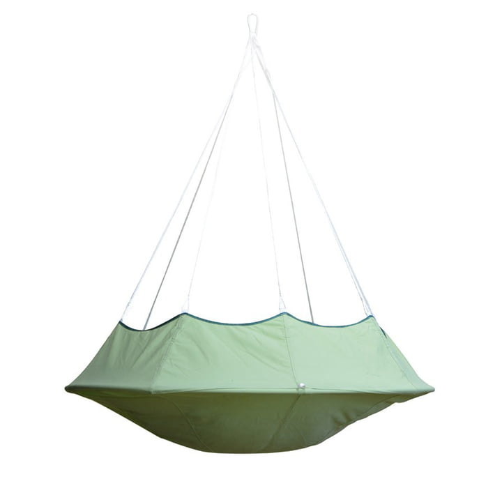 Lullio Single Hängesessel von Cacoon in leaf green