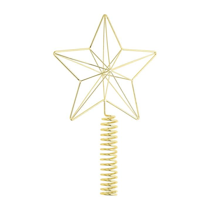 Bloomingville - Tannenbaumspitze, H 26 cm, gold