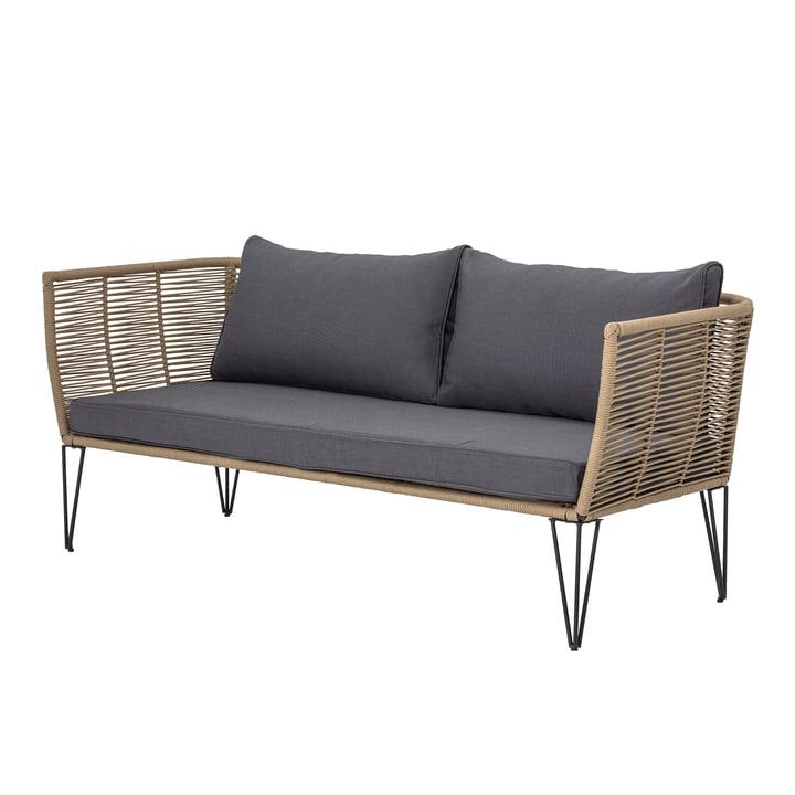 Mundo Sofa mit Kissen, braun / grau von Bloomingville