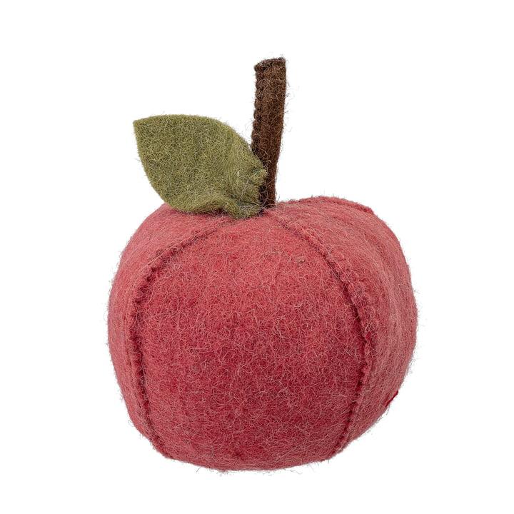 Buchstütze/ Türstopper Apfel von Bloomingville in rot