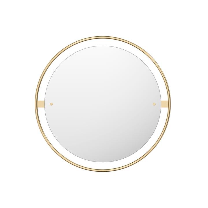 Nimbus Spiegel Ø 60 cm, Messing poliert von Menu