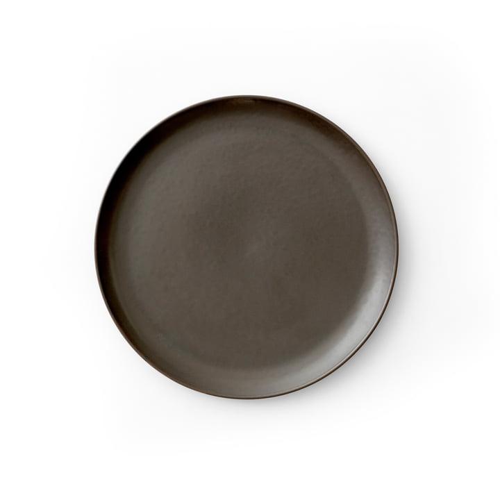 New Norm Beilagenteller Ø 19 cm, dark glazed von Menu