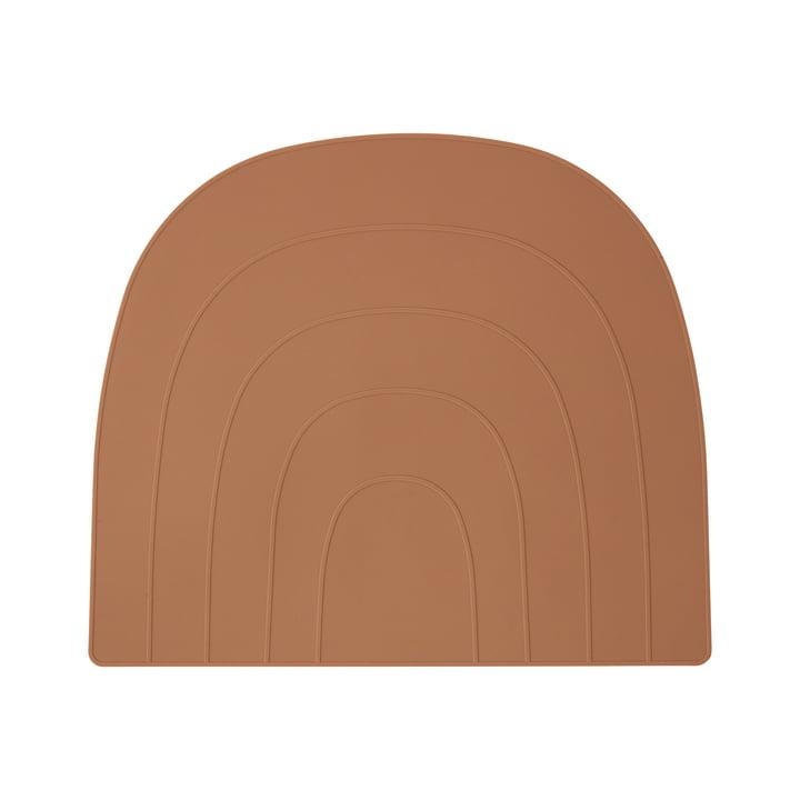 Regenbogen Tischset 34 x 41 cm, caramel von OYOY