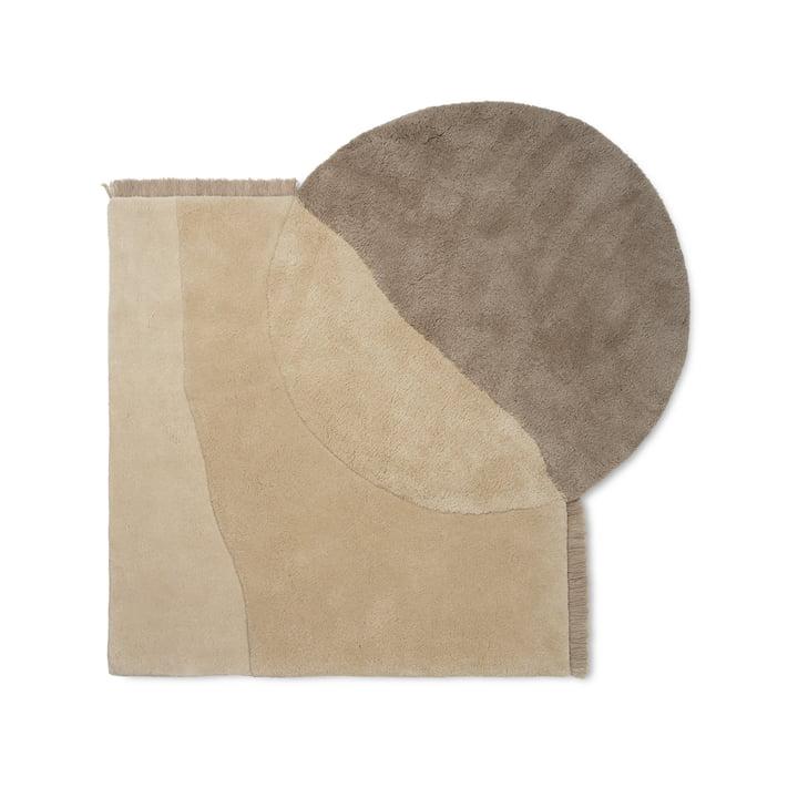 View Tufted Teppich von ferm Living in beige