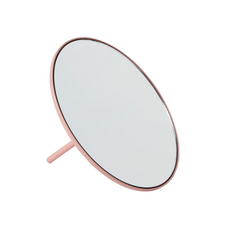 IO Tischspiegel Ø 18 cm von Gejst in rose