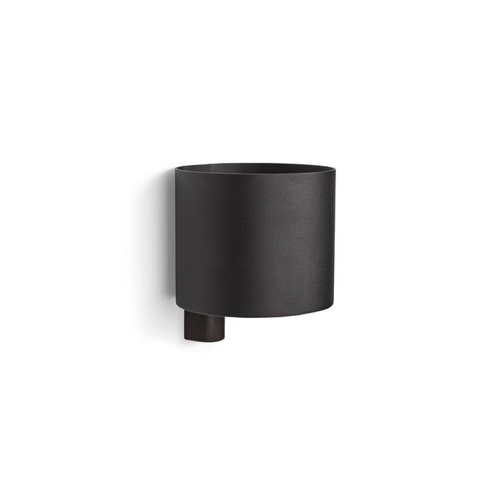 Kollage Blumentopf Ø 14 x H 12 cm von Gejst in schwarz