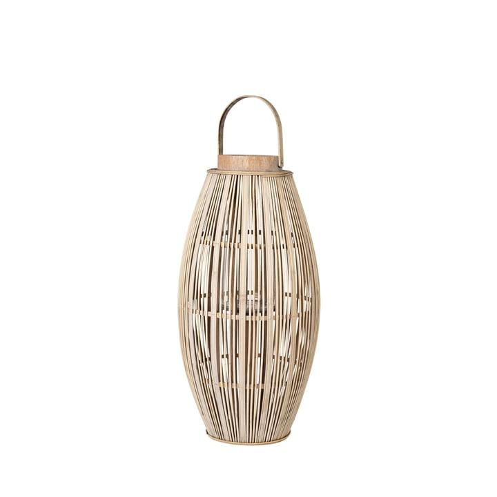 Aleta Bambus Laterne, Ø 31,5 x H 62,5 cm, natur von Broste Copenhagen