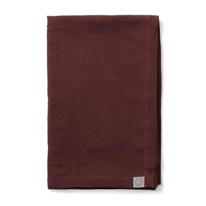 Collect SC31 Tagesdecke Leinen 240 x 260 cm von &tradition in burgundy
