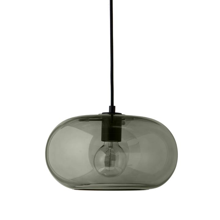 Kobe Pendelleuchte Ø 30 cm, Glas grün / schwarz von Frandsen