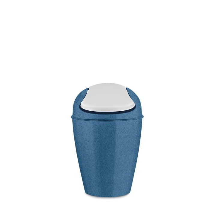 DEL S Schwingdeckeleimer 5 l von Koziol in organic deep blue