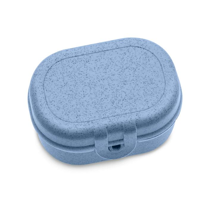Pascal Mini Lunchbox von Koziol in organic blue