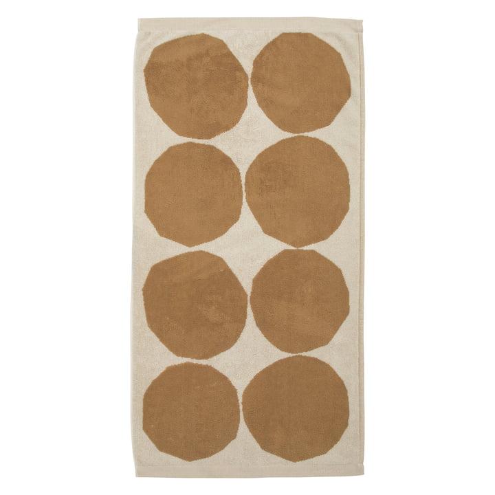 Kivet Handtuch 50 x 70 cm von Marimekko in baumwollweiss / beige