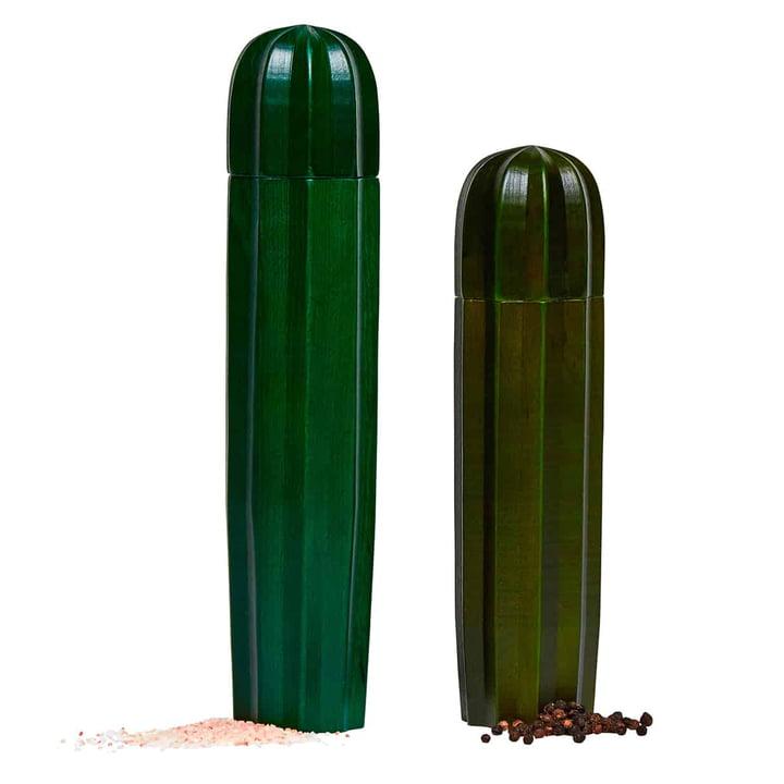 Cacti Salz- und Pfeffermühle (2er-Set), grün von Doiy